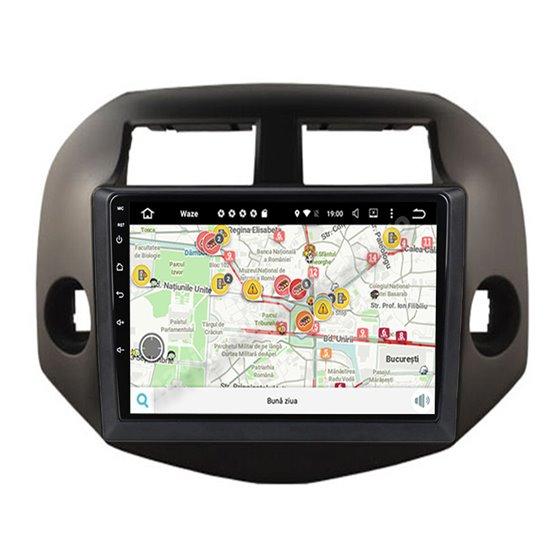 Navigatie Carplay Android 10 Toyota Rav 4 2007-2012 Octa Core 6GB Ram 128GB SSD Ecran 9 inch Ips NAVD-US91026