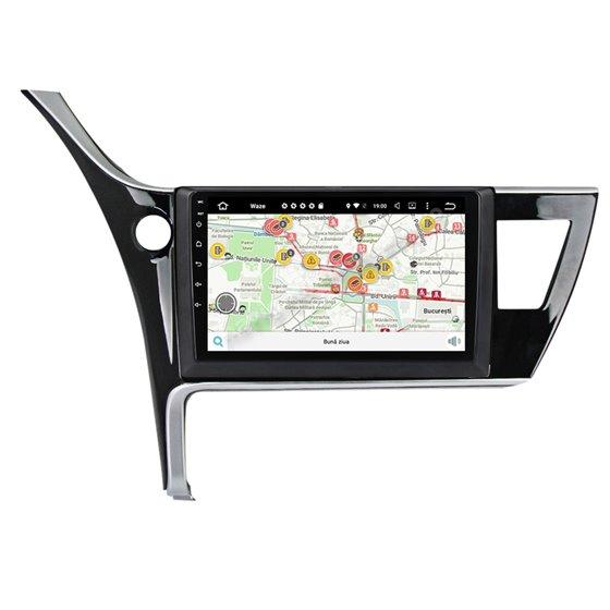Navigatie Carplay Android 10 Toyota Corolla 2017 Octa Core 6GB Ram 128GB SSD Ecran 9 inch NAVD-US91024