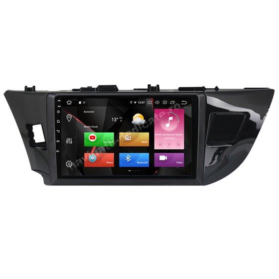Navigatie Carplay Android 10 Toyota Corolla 2014-2016 Octa Core 6GB Ram 128GB SSD Ecran 9 inch NAVD-US91013