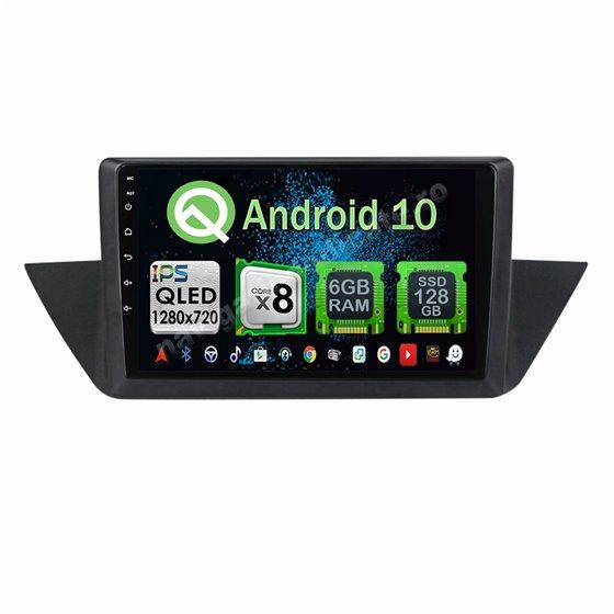 Navigatie Carplay Android 10 BMW X1 E84 Octa Core 6GB Ram 128GB SSD Ecran 9 inch NAVD-US9X1E84