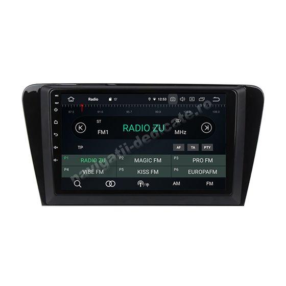 Navigatie Android 10 Skoda Octavia 3 Octa Core 4GB Ram Ecran 9 inch NAVD-Z5520