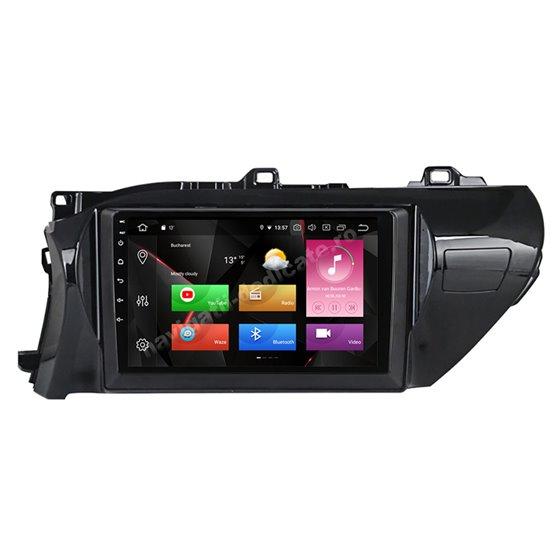 Navigatie Android 10 Toyota Hilux 2016-2020 Octa Core 4GB Ram Ecran 9 inch NAVD-Z81025