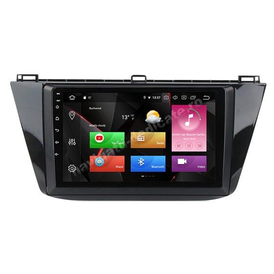 Navigatie Android 10 VW Tiguan 2017 Octa Core 4GB Ram Ecran 9 inch NAVD-Z81027