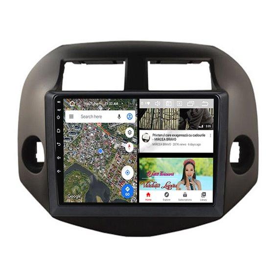 Navigatie Android 10 Toyota Rav 4 2007-2012 Octa Core 4GB Ram Ecran 9 inch Ips NAVD-Z81026