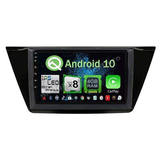 Navigatie Android 10 VW Touran 2016 Octa Core 4GB Ram Ecran 9 inch NAVD-Z81014