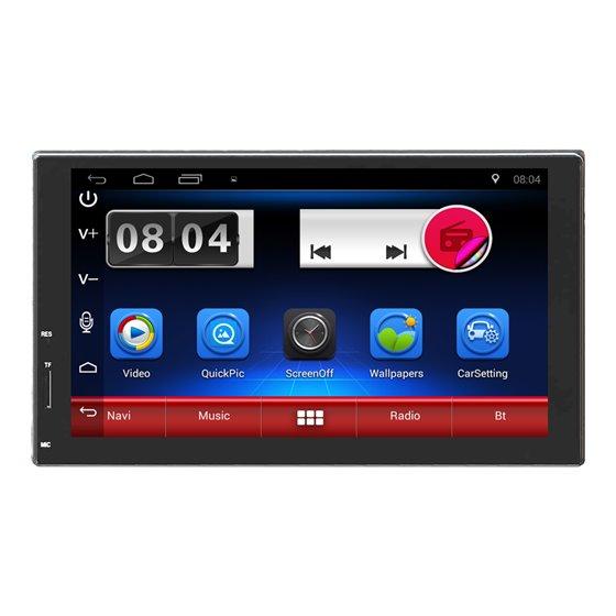 Second Hand Navigatie Android 2DIN Universala CARKIT USB NAVD-E902SH