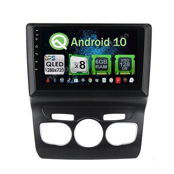 Navigatie Android Citroen C4 2011-2016 Octa Core 6GB Ram 128GB SSD Ecran 9 inch Ips NAVD-US9069