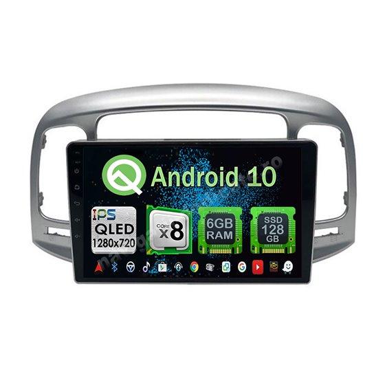 Navigatie Android HYUNDAI ACCENT 2006-2011 Octa Core 6GB Ram 128GB SSD Ecran 9 inch Ips NAVD-US9072