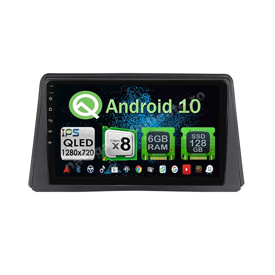 Navigatie Android Opel Mokka 2012-2016 Octa Core 6GB Ram 128GB SSD Ecran 9 inch Ips NAVD-US9065