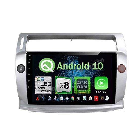 Navigatie Android 10 Citroen C4 2005-2010 Octa Core 4GB Ram Ecran 9 inch NAVD-Z8070