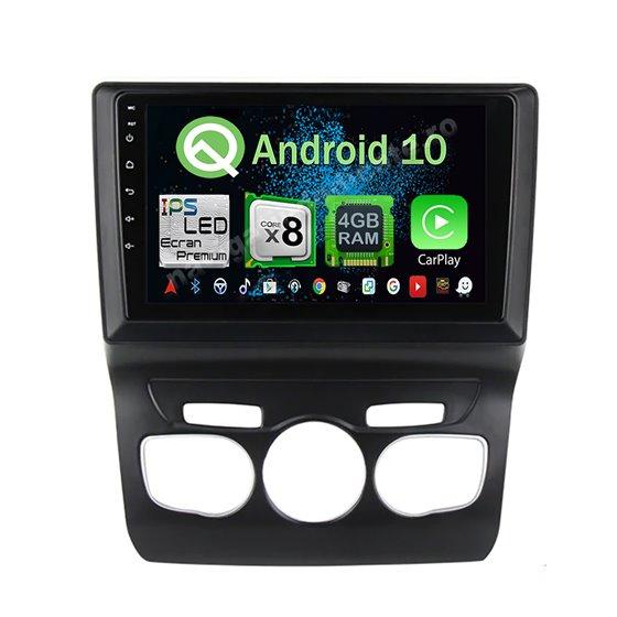 Navigatie Android 10 Citroen C4 2011-2016 Octa Core 4GB Ram Ecran 9 inch NAVD-Z8069