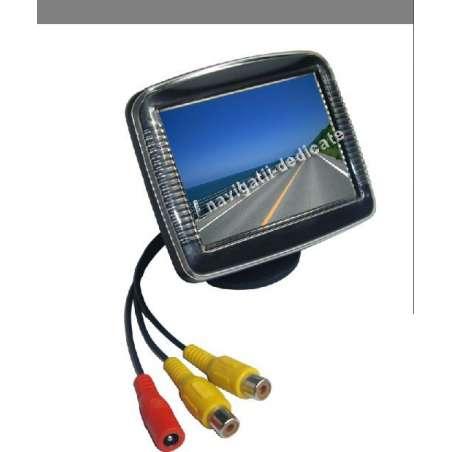 "Monitor 3.5"" pentru camera reverse sau senzori parcare"