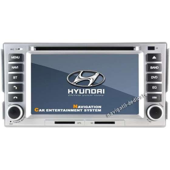 Dvd Auto Navigatie Hyundai Santa Fe GPS CARKIT IPOD TV NAVD-778Y