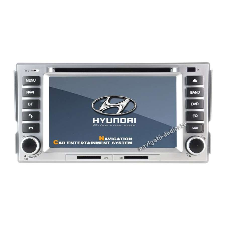 Navigatie Hyundai Santa Fe DVD GPS CARKIT IPOD TV NAVD-788Y