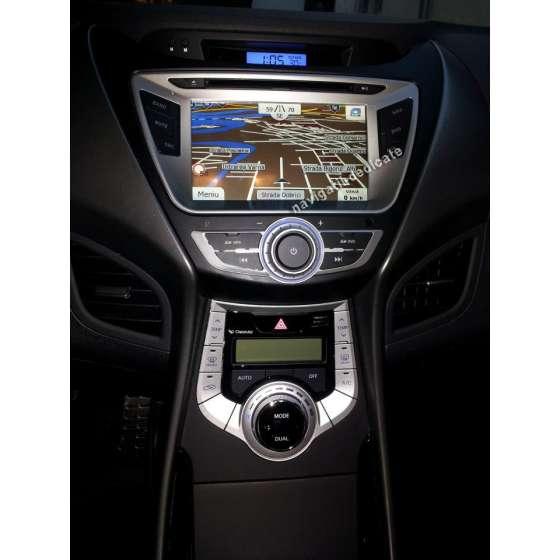 Navigatie HYUNDAI ELANTRA 2011 DVD GPS CARKIT TV NAVD-8992