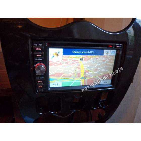 NAVIGATIE DEDICATA DACIA SANDERO DVD AUTO GPS CARKIT USB TV NAVD-6093D