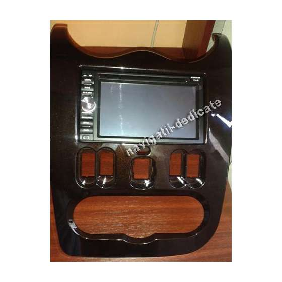 NAVIGATIE DACIA DUSTER LOGAN SANDERO DVD AUTO GPS CARKIT USB TV NAVD-6093D
