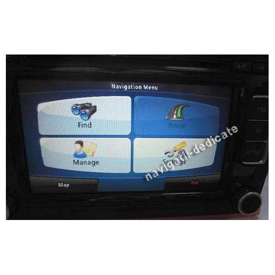 Navigatie RCD510 VW PASSAT B6 GOLF EOS TIGUAN TOURAN NAVD-RCD510