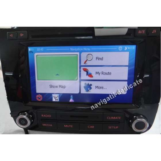 Navigatie Android pentru RCD550 VW TOUAREG 2012 NAVD-RCD550