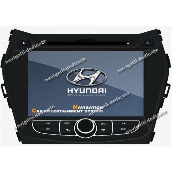 Navigatie Dedicata Hyundai NEW Santa Fe 2012 DVD AUTO GPS CARKIT INTERNET NAVD-9546Y