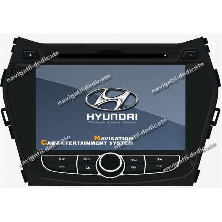 Navigatie Dedicata Hyundai NEW Santa Fe 2012 DVD AUTO GPS CARKIT INTERNET NAVD-C209