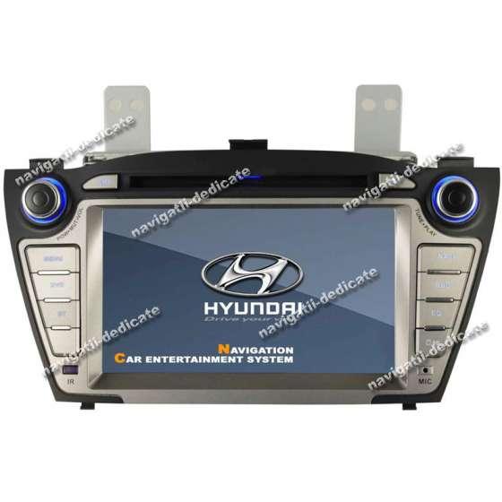 DVD GPS Auto Navigatie Dedicata Hyundai IX35 NEW TUCSON NAVD-D8255Y