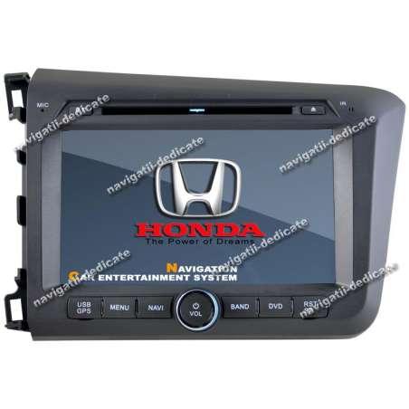 Navigatie Dedicata Honda Civic Sedan 2012 DVD Auto GPS Carkit NAVD-9305H