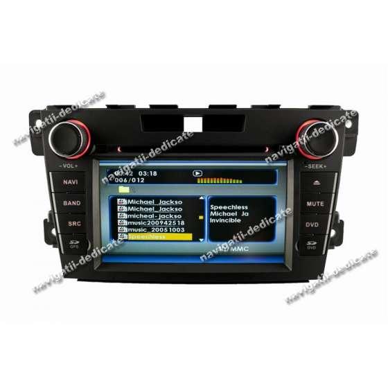 Navigatie Dedicata MAZDA CX-7 2010 DVD Auto GPS IPOD USB TV NAVD-c097