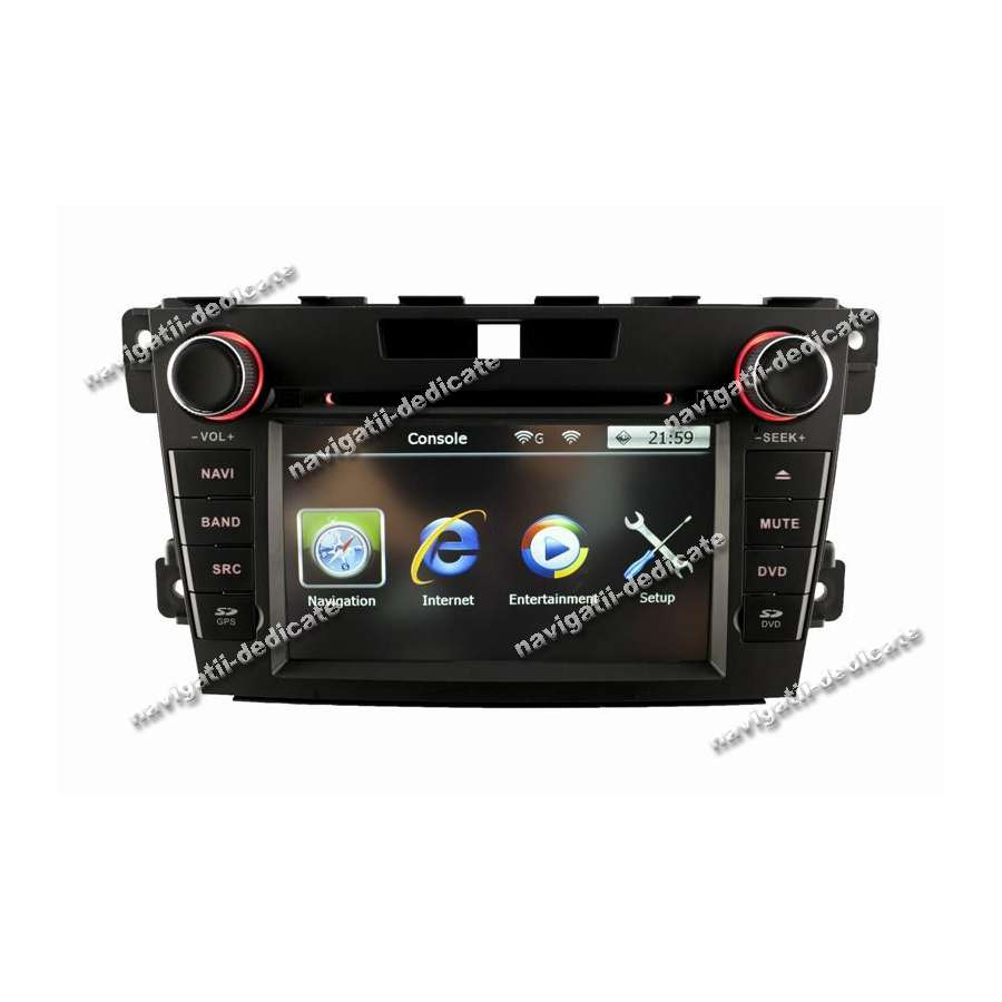 Navigatie Dedicata MAZDA CX-7 2010 DVD Auto GPS IPOD USB TV NAVD-8997