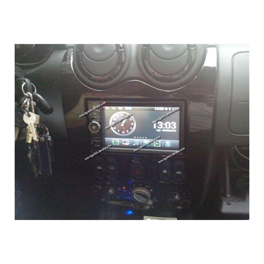 Navigatie Dedicata Android Dacia Duster Logan Sandero DVD AUTO GPS CARKIT USB TV INTERNET NAVD-1802G