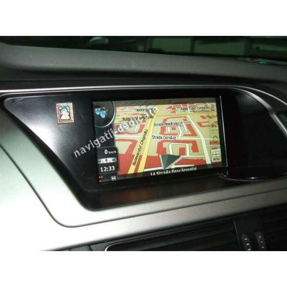 Navigatie Interfata dedicata AUDI A4 A5 Q5 DVD GPS CARKIT USB REZ 800X480