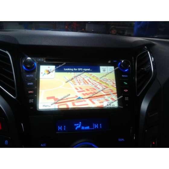 Navigatie Dedicata Hyundai I40 DVD GPS Auto CARKIT IPOD Internet NAVD-A172N