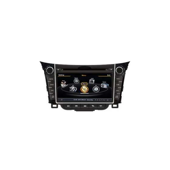 Navigatie Dedicata Hyundai I30 DVD GPS Auto CARKIT IPOD Internet NAVD-c156