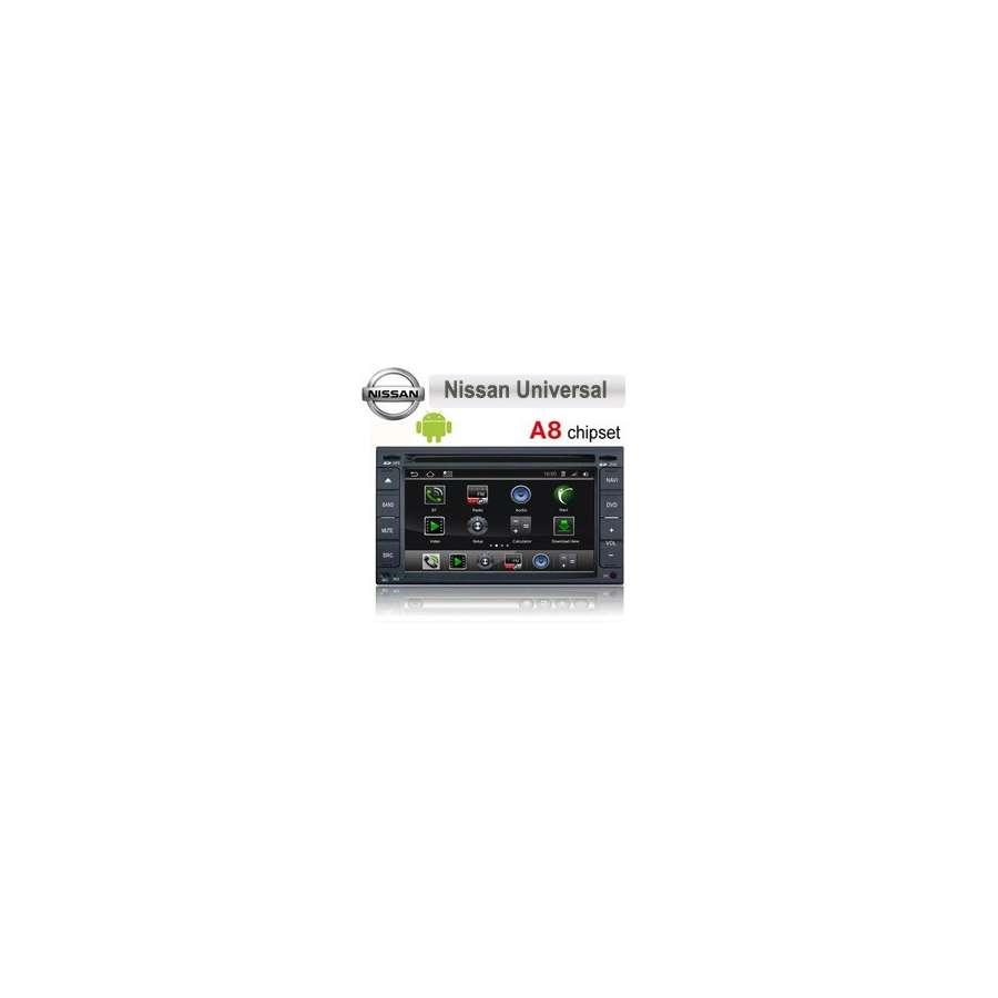 NAVD-i001 Navigatie Dedicata Android Nissan Hyundai Dvd Gps Auto