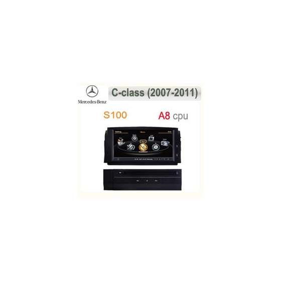 NAVIGATIE DEDICATA MERCEDES BENZ C CLASS W204 DVD GPS AUTO CARKIT NAVD-c265