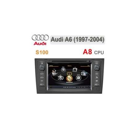Navigatie Dedicata AUDI A6 DVD Auto GPS CARKIT Internet 3g NAVD-c102