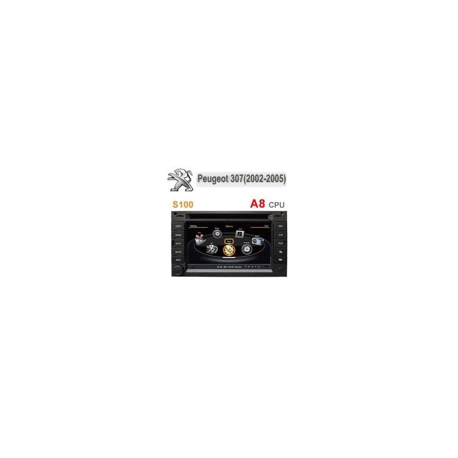 Navigatie Dedicata PEUGEOT 307 207 DVD GPS Auto CARKIT internet NAVD-C017