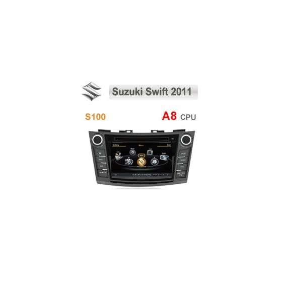 Navigatie Dedicata SUZUKI SWIFT 2011 DVD GPS CARKIT INTERNET NAVD-c179