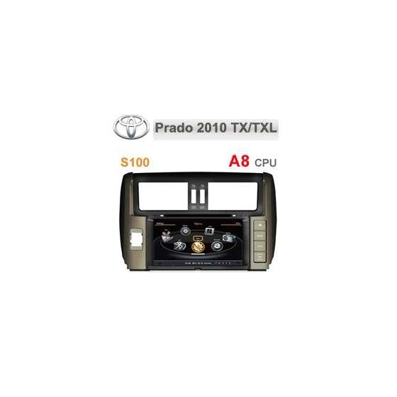 Navigatie Dedicata TOYOTA LAND CRUISER 2012 DVD GPS AUTO CARKIT NAVD-c065