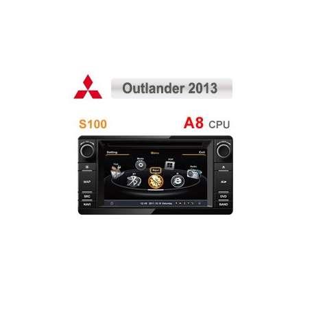 Navigatie Dedicata MITSUBISHI OUTLANDER 2013 ASX 2014 DVD GPS Auto CARKIT TV NAVD-c230