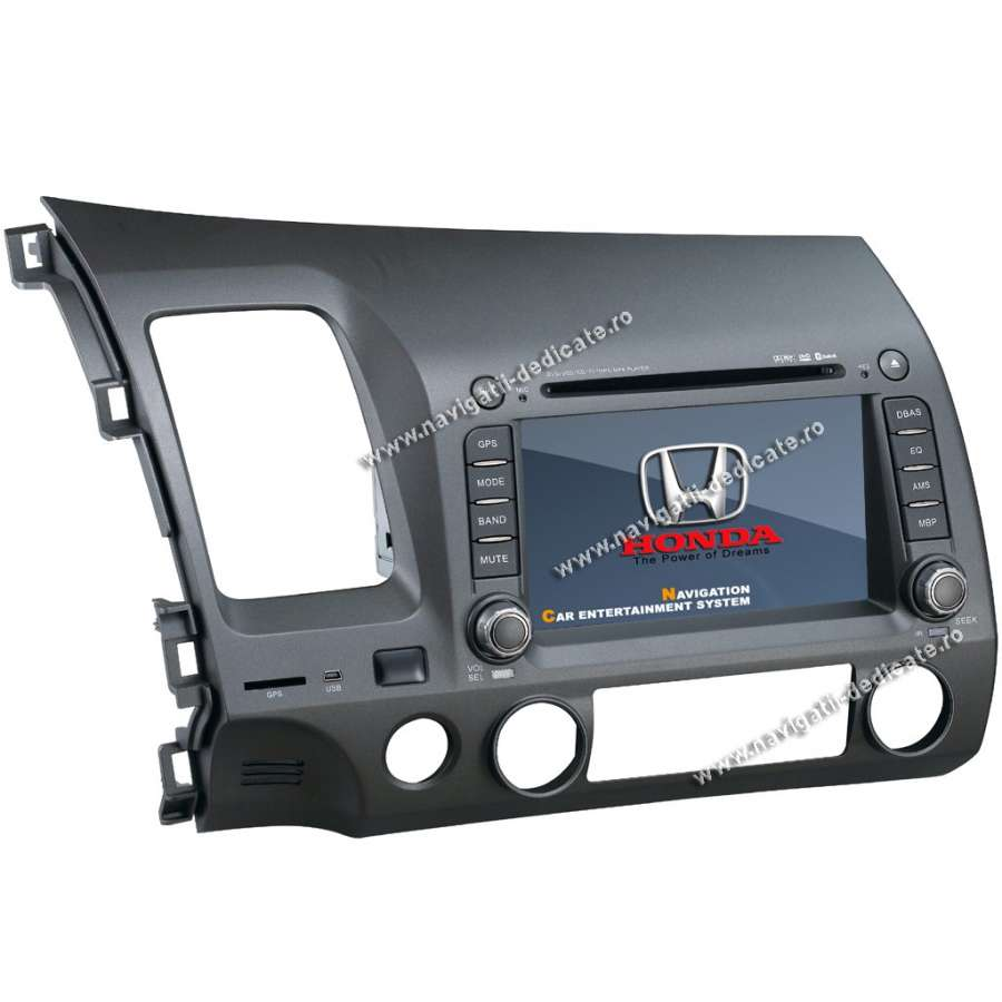 Navigatie Dedicata HONDA CIVIC SEDAN DVD GPS/BLUETOOTH/IPOD/USB/TV