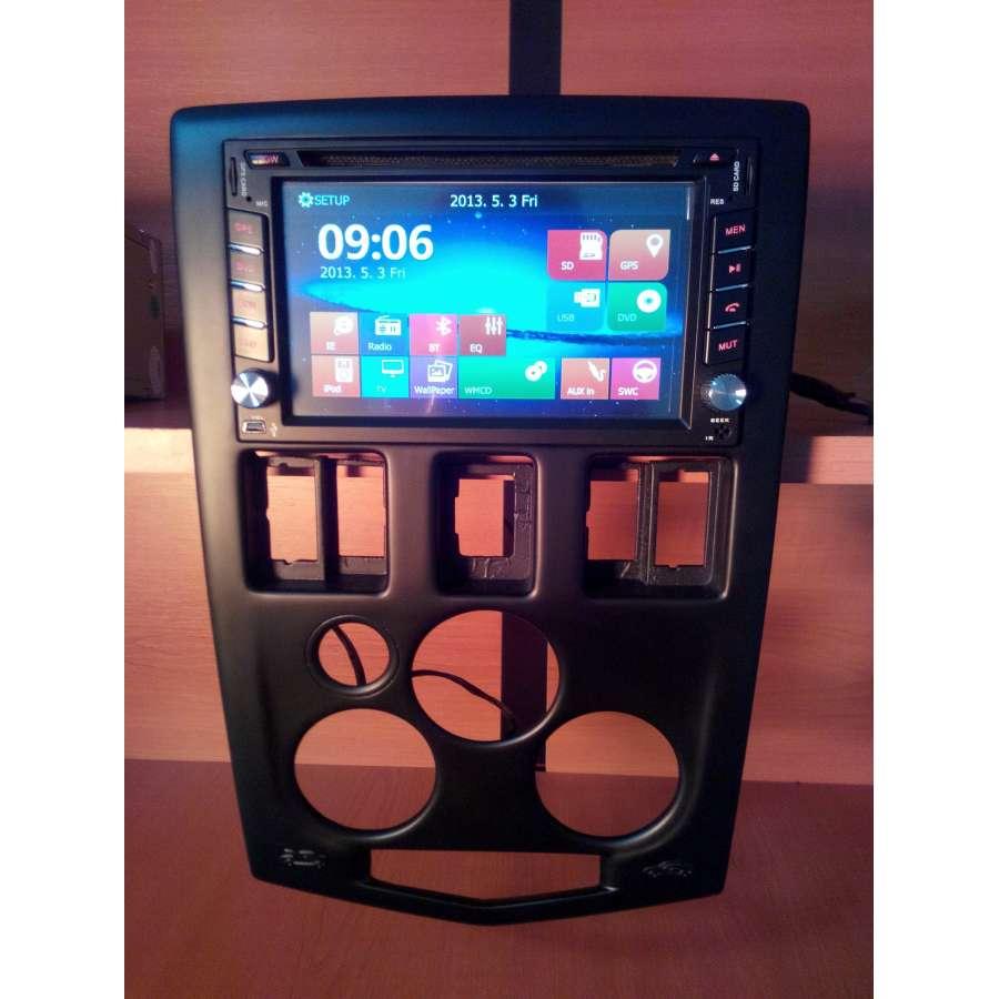 Navigatie Dedicata Dacia Logan Ph1 DVD AUTO GPS CARKIT USB TV NAVD-6205D