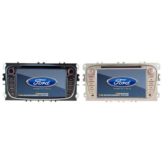 Dvd Auto Ford Focus Mondeo S-Max Navigatie GPS CARKIT TV Internet NAVD-D8457