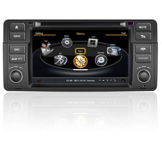 Dvd Gps Auto Navigatie Dedicata  BMW E46 NAVD-C052