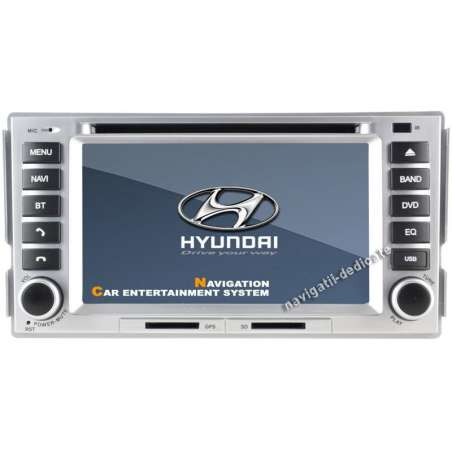 Dvd Auto Navigatie Hyundai Santa Fe GPS CARKIT IPOD TV NAVD-D008