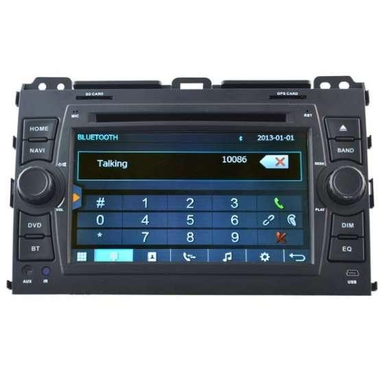 Navigatie Dedicata TOYOTA LAND CRUISER DVD GPS AUTO CARKIT NAVD-D8129T