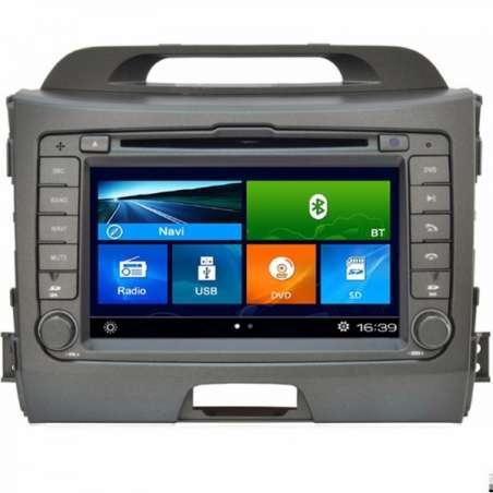 Navigatie Dedicata Kia Sportage 2010 DVD GPS Auto CARKIT NAVD-k074