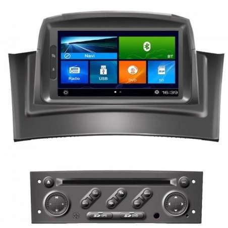 Navigatie Dedicata RENAULT MEGANE 2 DVD GPS Auto CARKIT NAVD-k098