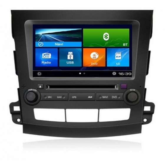 Navigatie Dedicata Peugeot 4007/ CITROEN C-CROSSER/ MITSUBISHI OUTLANDER  DVD GPS Auto CARKIT TV NAVD-k056