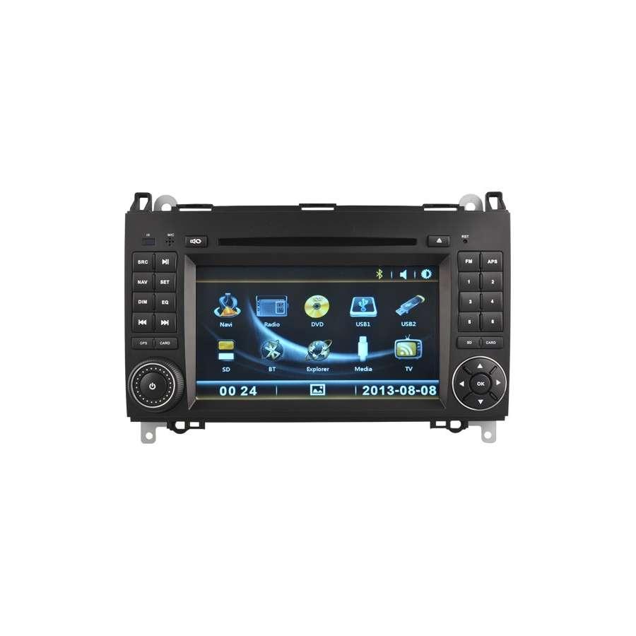 NAVIGATIE DEDICATA VW CRAFTER DVD GPS CARKIT NAVD-D068